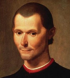 Photo Credit: Portrait of Machiavelli by Santi di Tito (cropped), marked as public domain.
