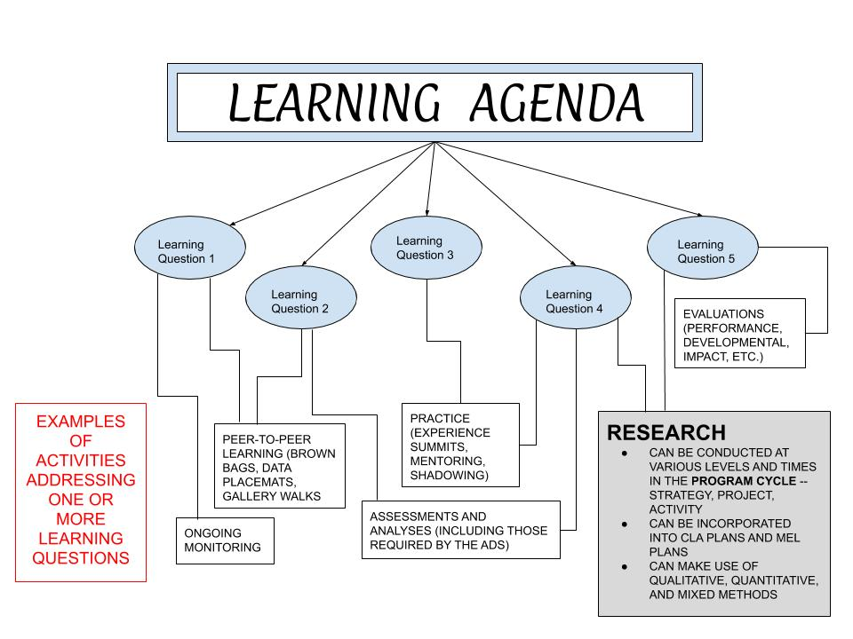 Learning Agenda Flow Chart