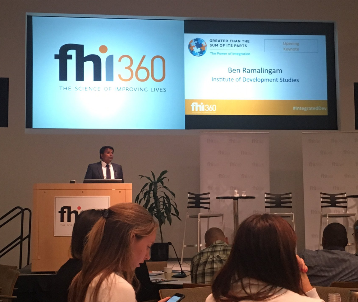 Image from FHI 360 Integration Summit