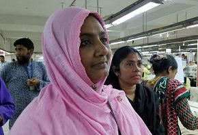 Garment Factory, Chittagong, Bangladesh/Sarah Swift, USAID