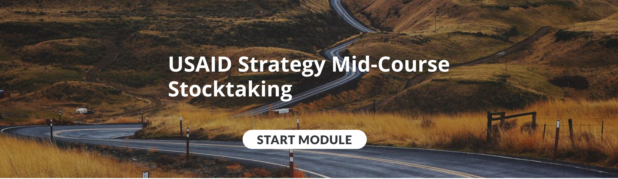Image with link to USAID Strategy Mid-Course Stocktaking Module