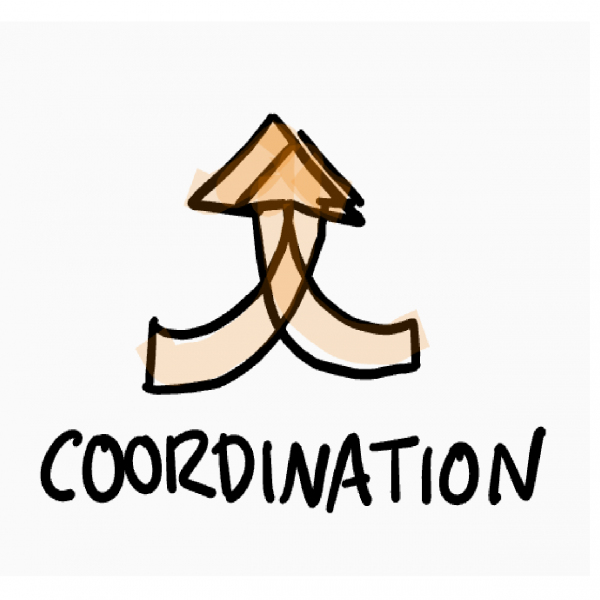 Type of collaboration - coordination