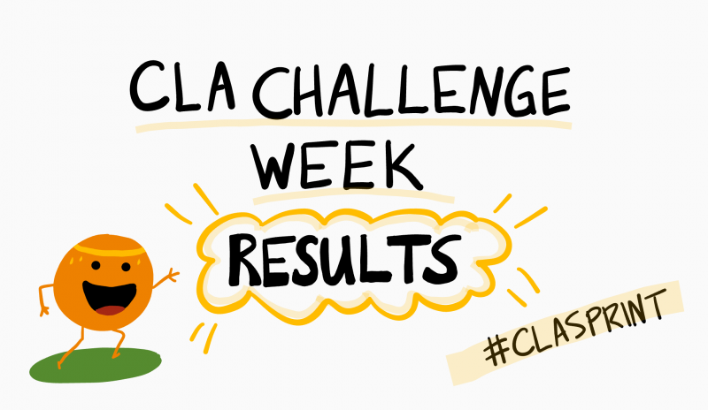 CLA Challenge Week Graphic